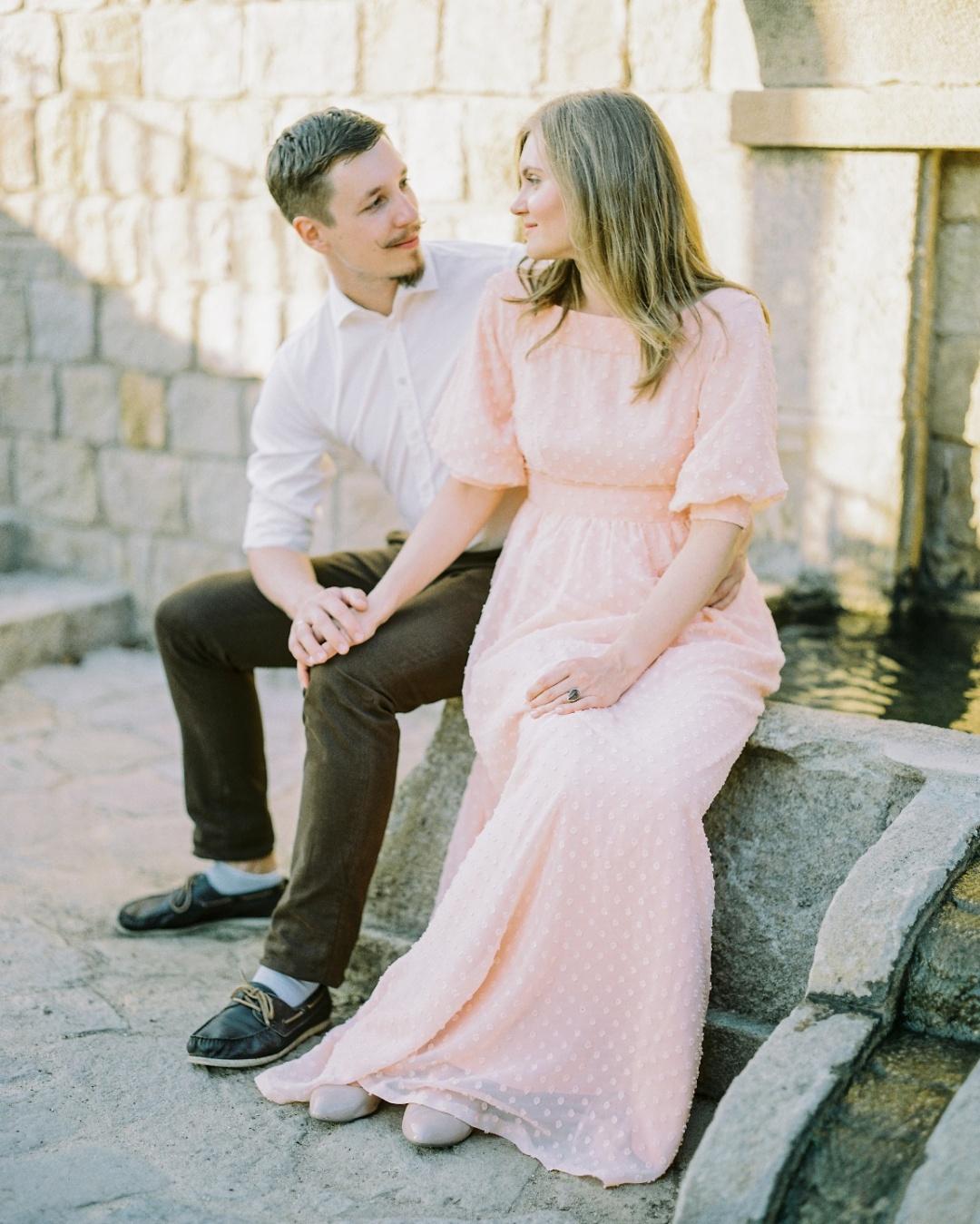 Медовый месяц в Барселоне: love-story Виктора и Дарьи