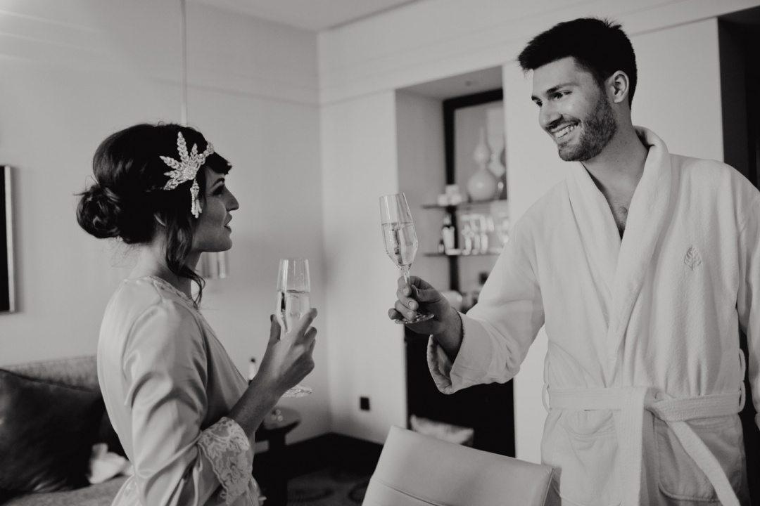 В стиле «Великого Гэтсби»: свадьба Андрея и Алены
