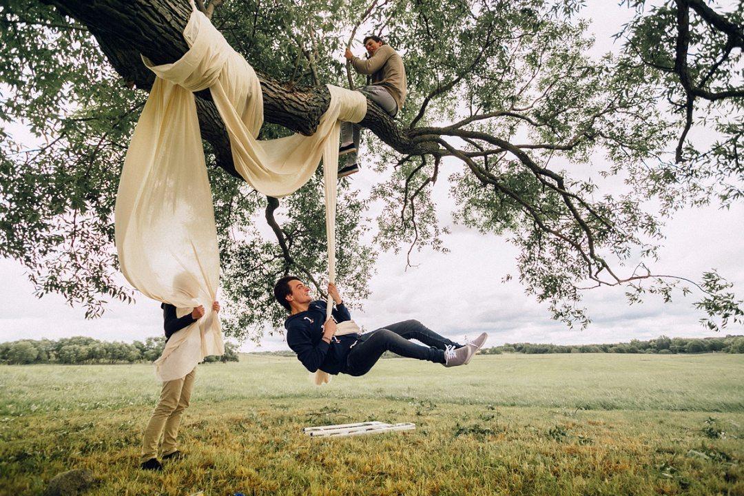 Закулисье свадеб: рустик свадьба Юры и Даши