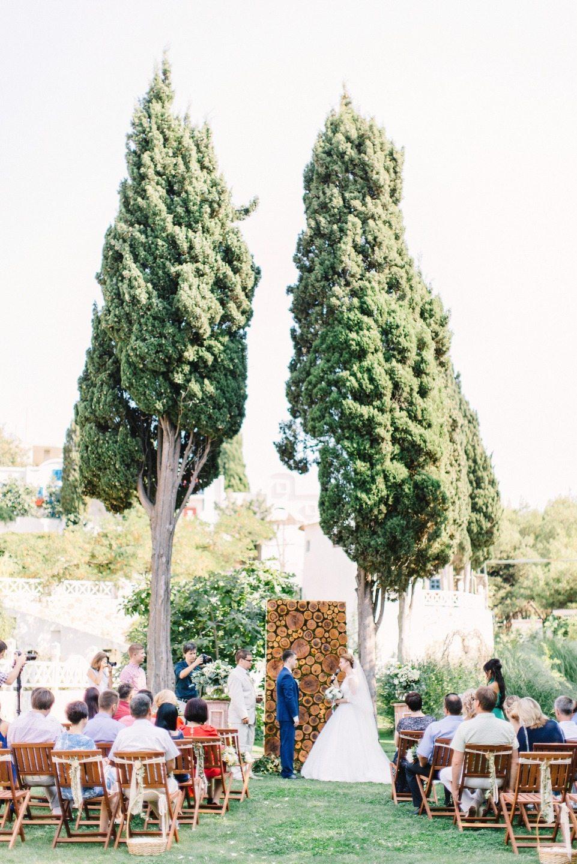 В свете любви: свадьба Елизаветы и Евгения