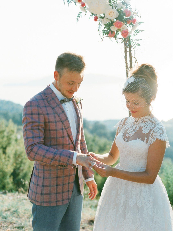 Нежнее нежного: свадьба Максима и Людмилы
