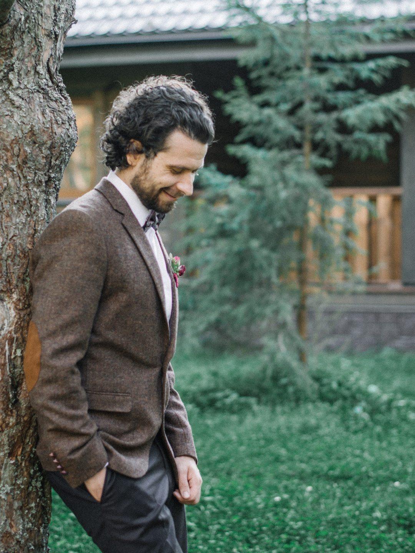 На опушке соснового леса: свадьба Руслана и Елены