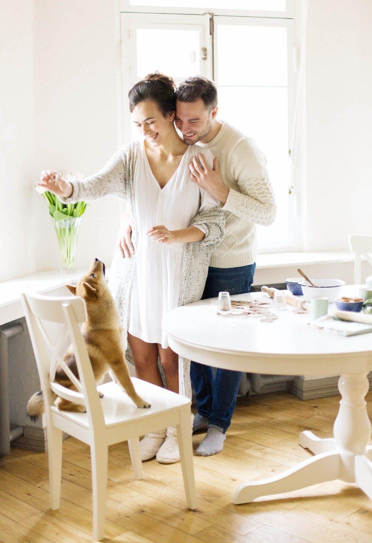 В атмосфере домашнего уюта: love-story Виталия и Кристины