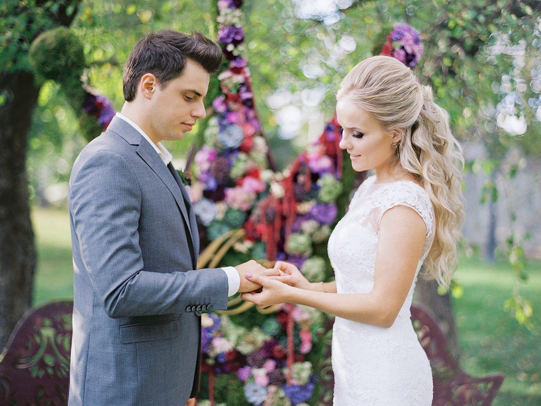 В тридевятом царстве: свадьба Александра и Виталины