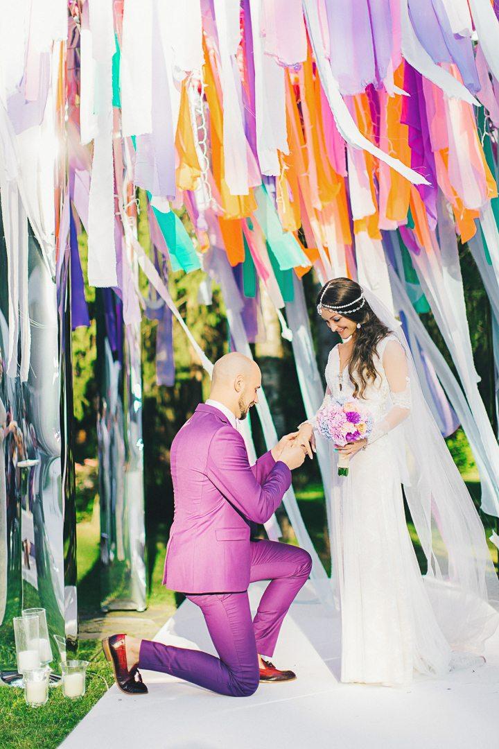 Ice cream wedding: свадьба Богдана и Полины