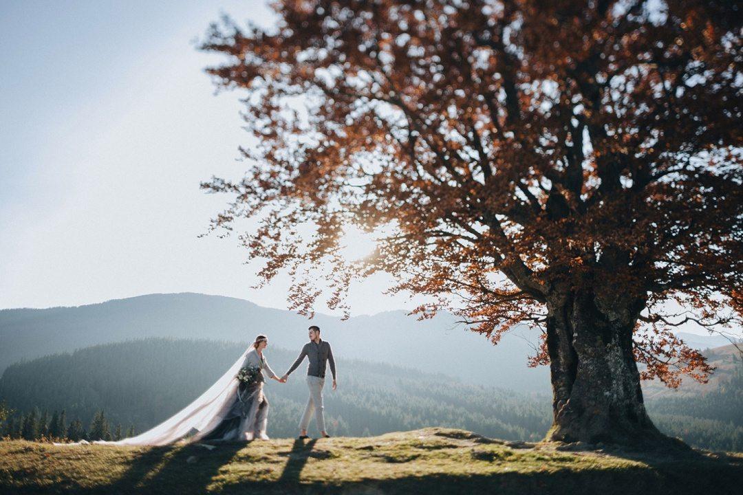In love with Carpathians: стилизованная фотосессия