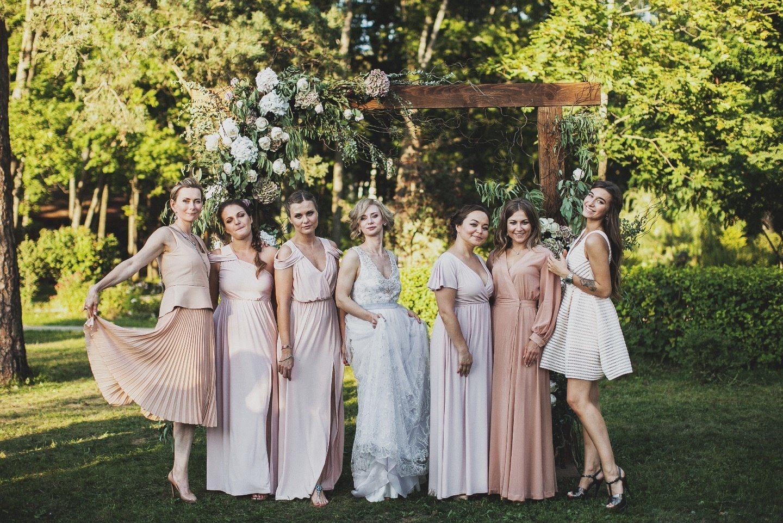 Атмосфера любви: свадьба Людмилы и Юрия