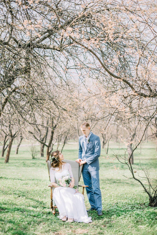 Свежесть ранней весны: свадьба Паши и Даши