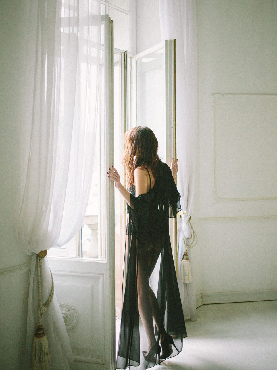 Black Boudoir: стилизованная фотосессия