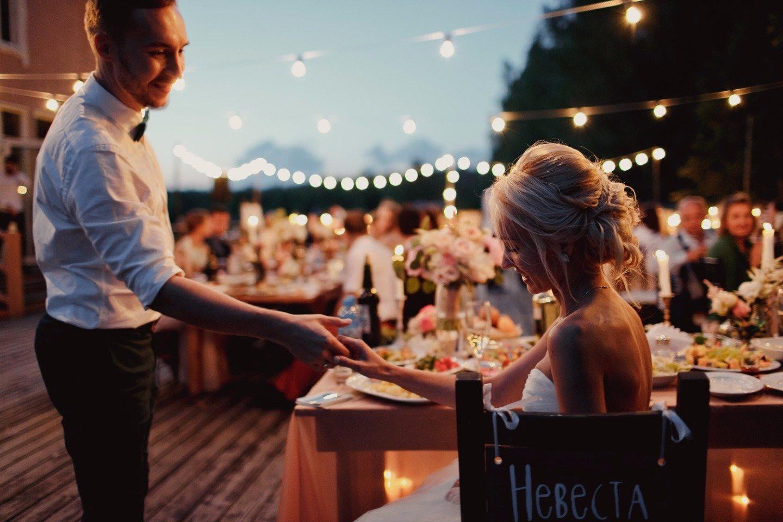 Нежный рустик: свадьба Даши и Феди