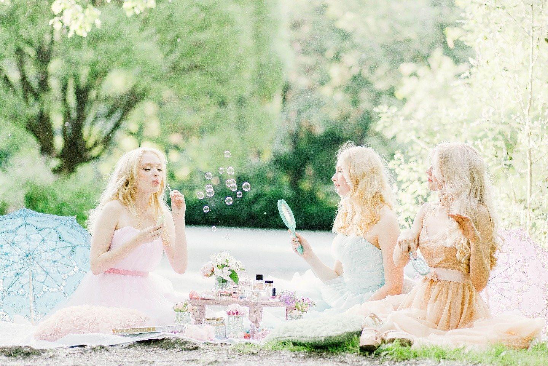 Flower fairies: стилизованная съемка
