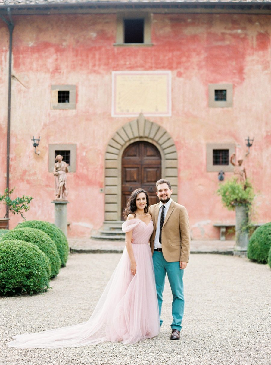 На полях Тосканы: love-story Ольги и Владимира