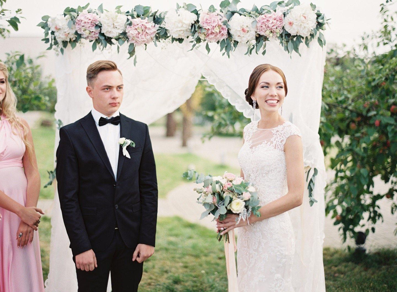 Очарование элегантности: свадьба Олега и Ирины