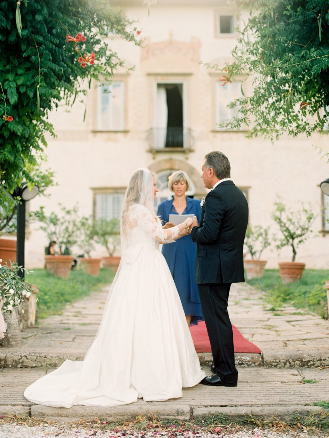 Романтика Тосканы: свадьба Аньи и Стива