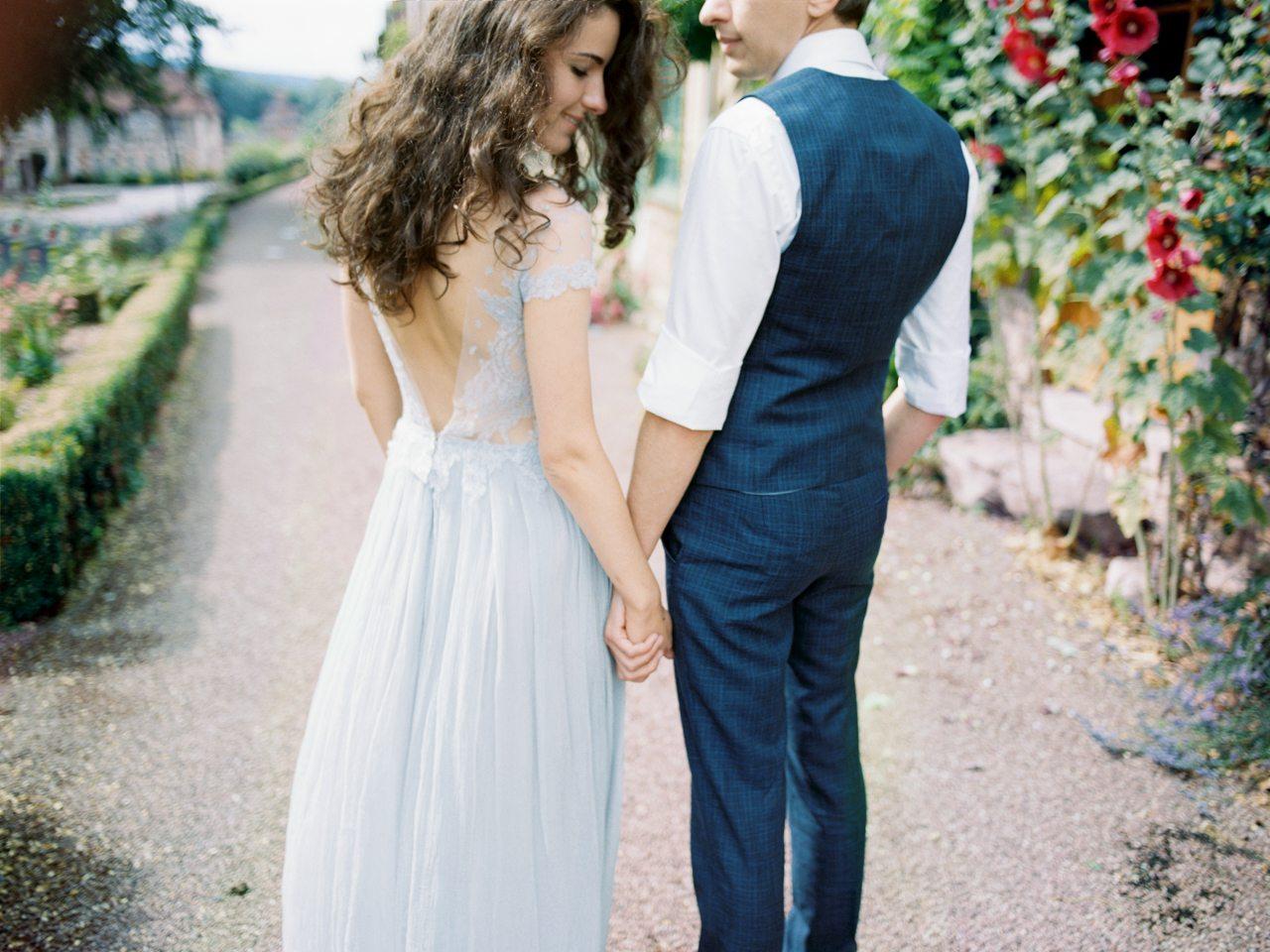Обаяние Франции: свадьба Дениса и Кати