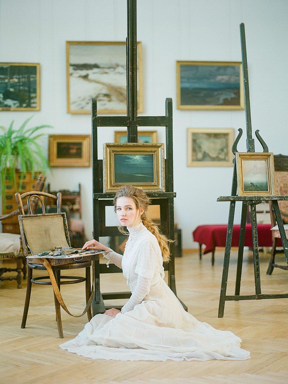 Художник света: стилизованная фотосессия