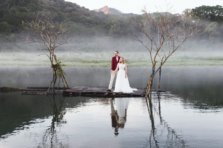 В стране грез: свадьба Максима и Евгении