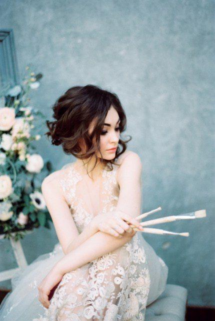Yaroslav and Jenny напомнили, что утро невесты может быть акварельным Платье: Татьяна Кочнова, Модель: Мария Сергеева