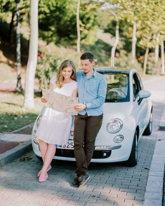 Love-story Виктора и Дарьи, фото: Ксения Бунец
