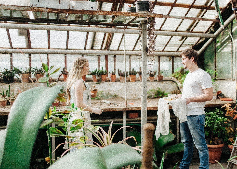 В стиле эко: love-story Витласы и Жени