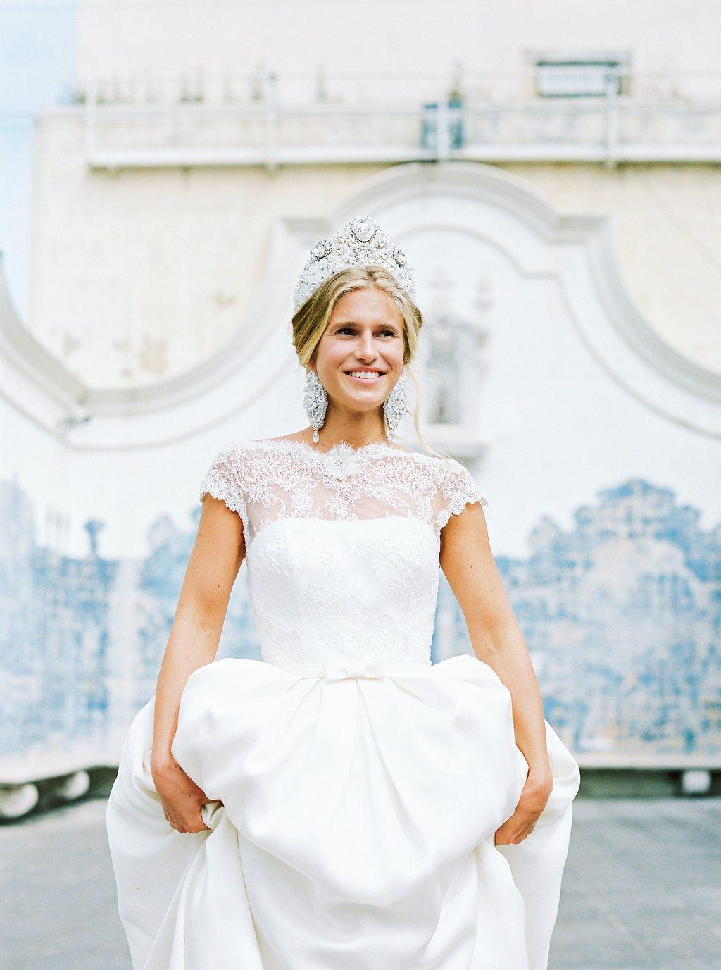 Идеальная невеста от Rosa Clara: стилизованная фотосессия