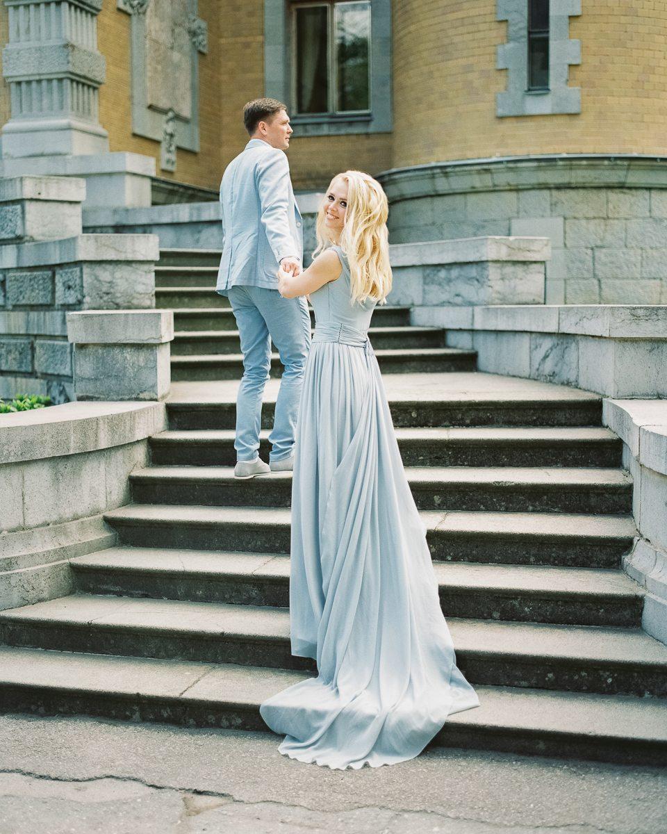 В цвете майского неба: свадьба Ольги и Дмитрия
