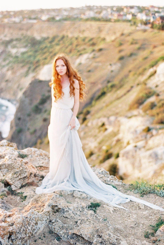 Дева и море: стилизованная фотосессия