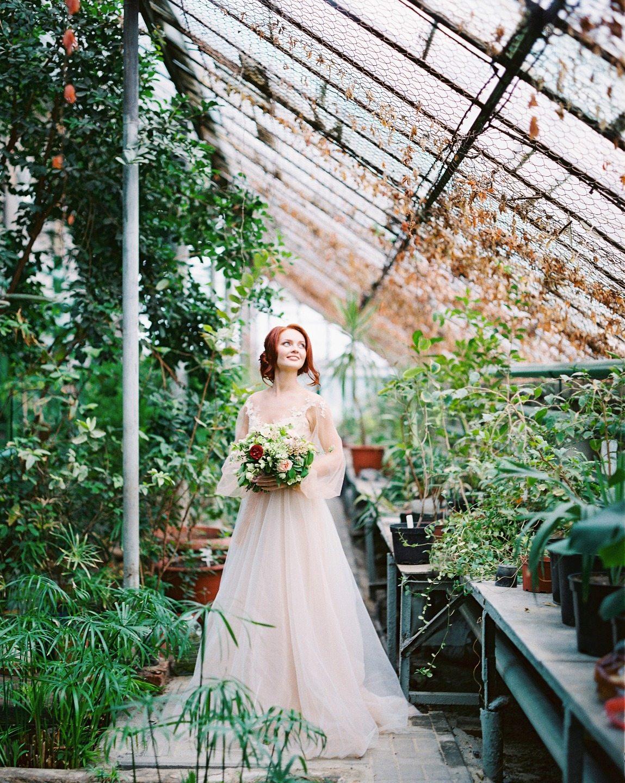сделала оранжерея ботанического сада спб свадебные фото линий