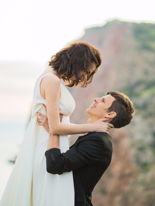 В стиле рок-н-ролл: свадебная love-story Дэмиена и Джейн