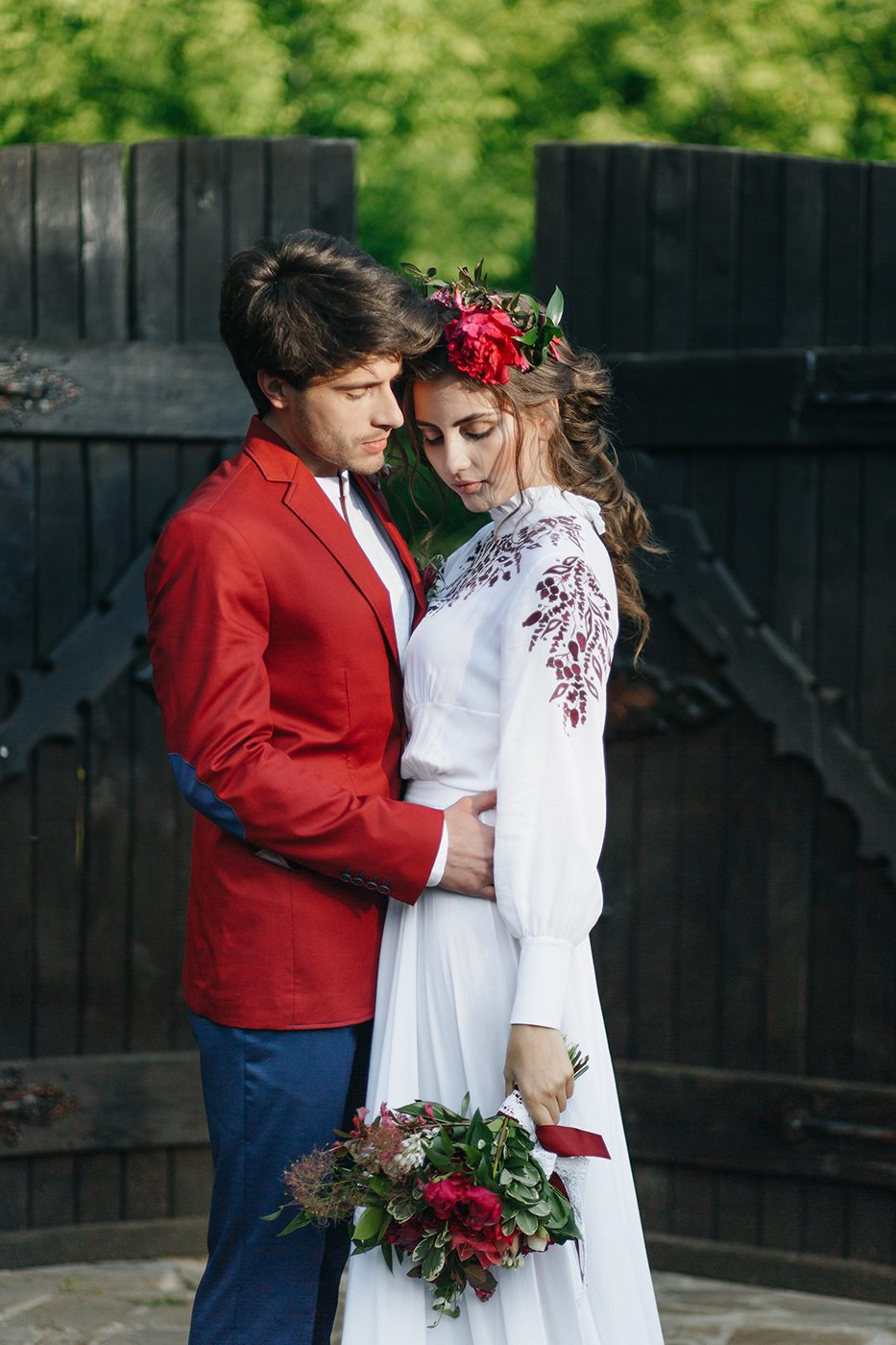 Национальный колорит: этно-свадьба Ульяны и Дмитрия