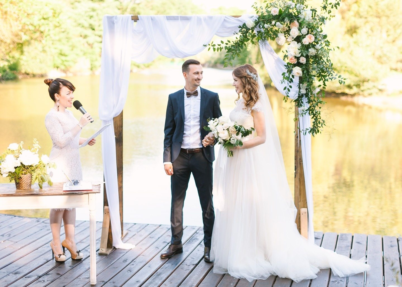 Современная классика: свадьба Андрея и Насти