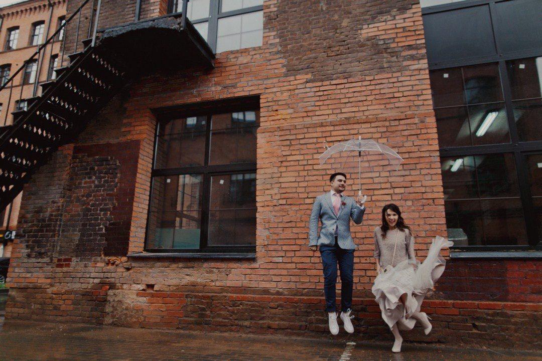 10 свадеб, во время которых был дождь. И он не помешал веселью!