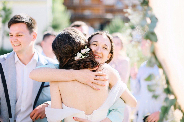 Романтичный рустик: свадьба Анны и Евгения