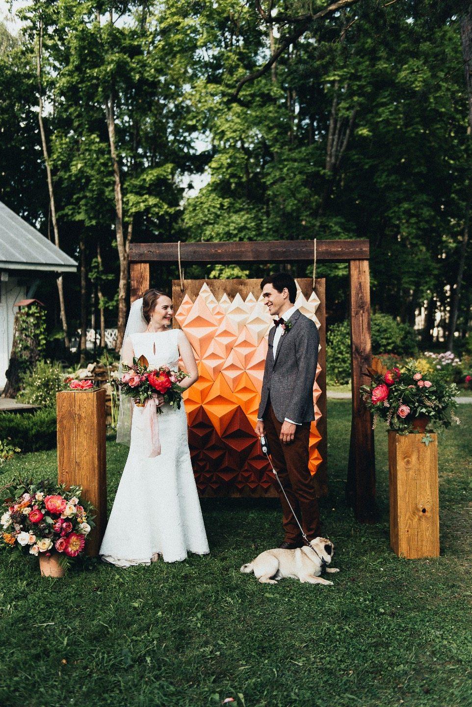 Яркие краски лета: свадьба Ильи и Дарьи