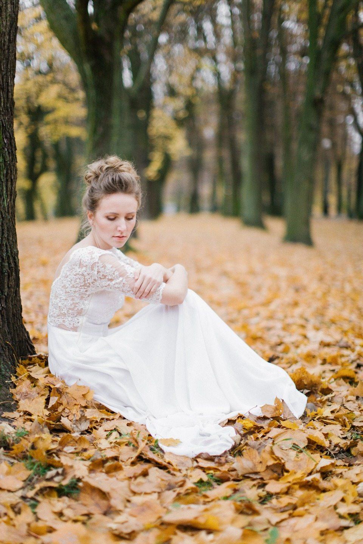 Осенняя пора: стилизованная фотосессия