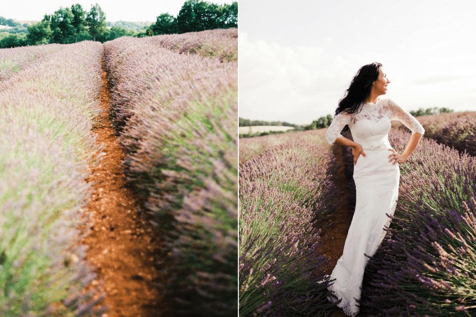 Лавандовый медовый месяц: love-story Леры и Алекса