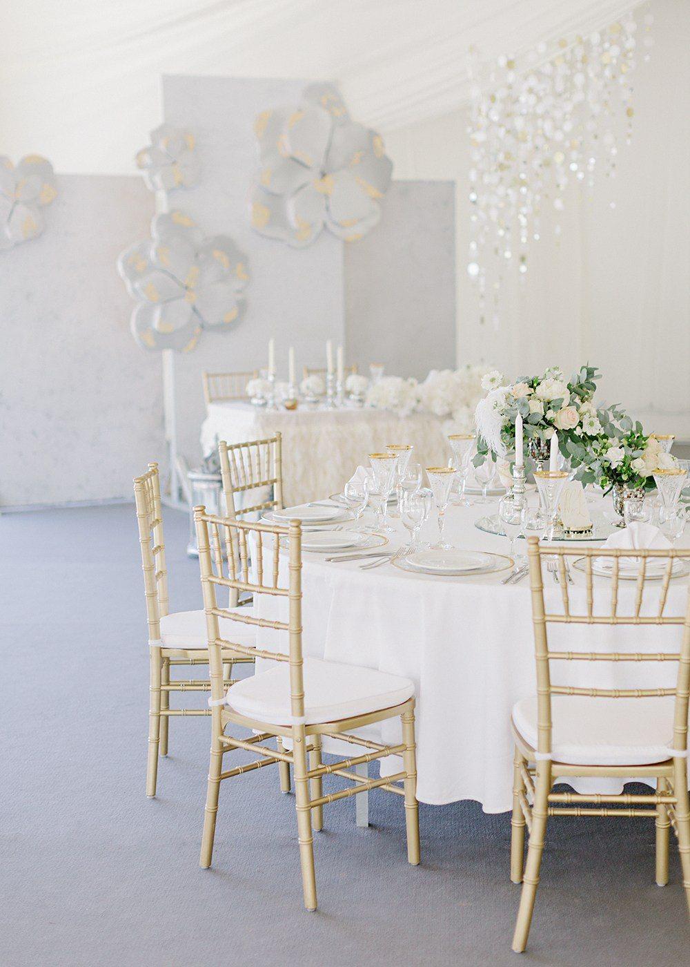 8 советов по организации свадьбы в стиле «минимализм»