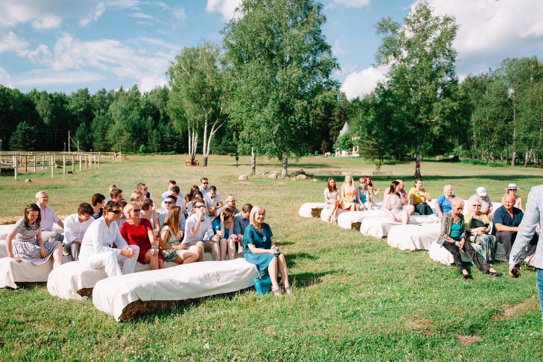Вечеринка на заднем дворе: свадьба Андрея и Юли