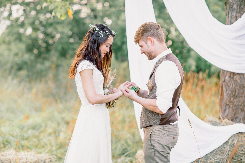 В лучах солнца: свадьба Георгия и Ольги