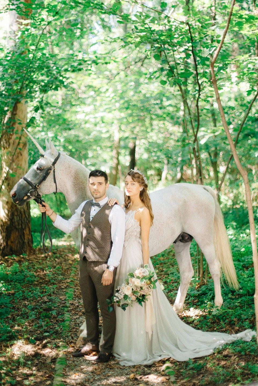 Зачарованный лес: свадьба Камила и Елены