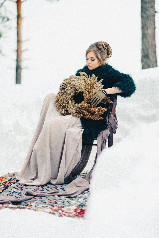 Снежная сказка: стилизованная фотосессия