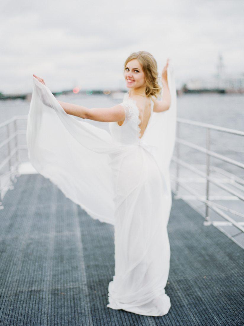 Морская романтика: свадьба Марии и Леонида