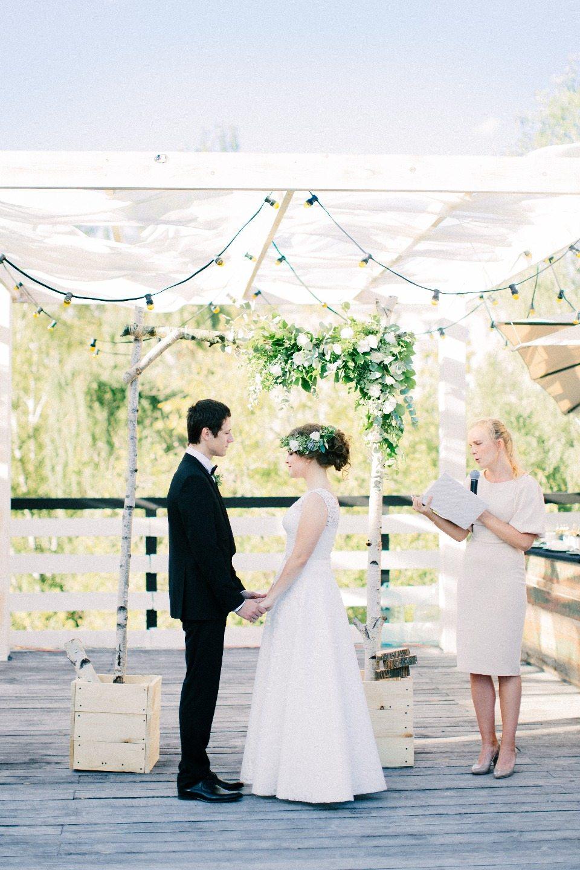 Гармония противоположностей: свадьба Никиты и Ксении