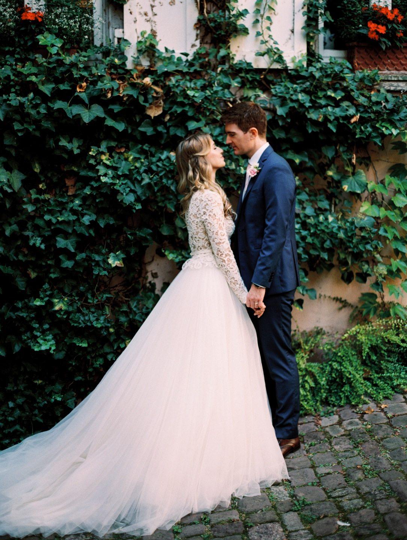 Нежная классика: свадьба Полины и Роберта