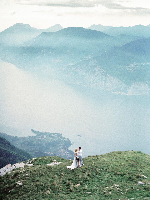 Прогулка среди облаков: свадебная съемка Андрея и Юлии
