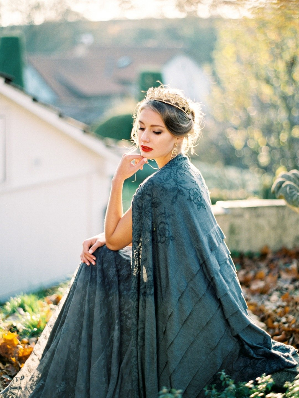 Багряная осень: стилизованная фотосессия