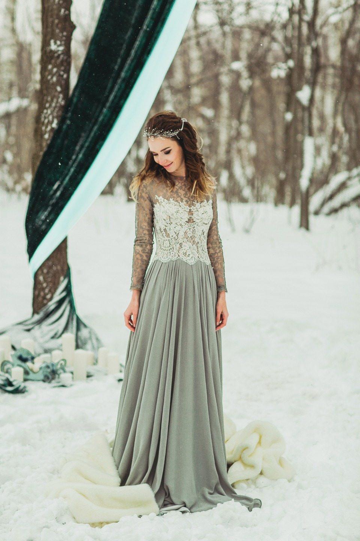 Снежная сказка: love-story Виталия и Юли