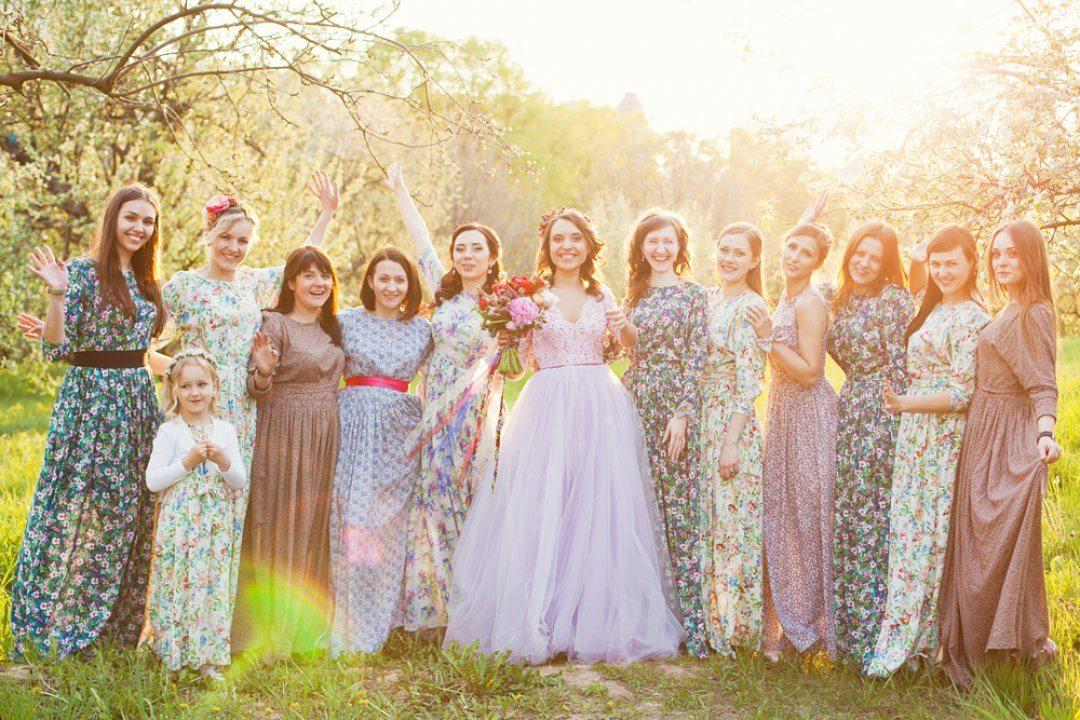 Яркие краски весны: свадьба Анны и Евгения