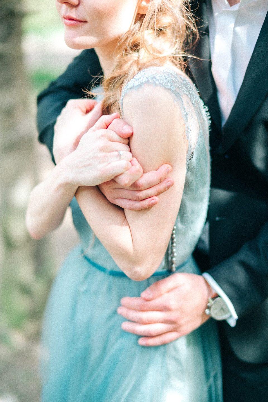 Нежность весны: свадьба Димы и Жени