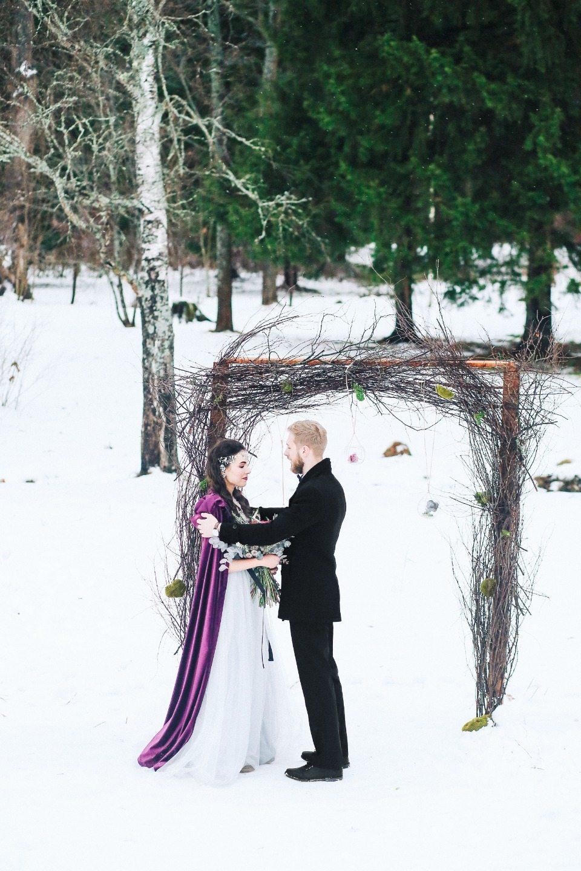 Elvish wedding: стилизованная фотосессия